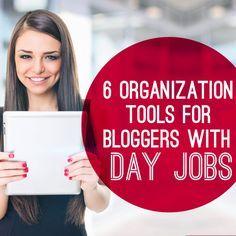 6 organization tools for bloggers #getorganized