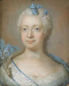 """Artist   Gustaf Lundberg (1695–1786) Portrait of Louisa Ulrika of Prussia (1720-1782)"