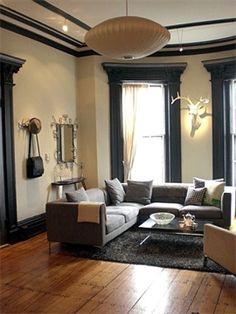 Comhome Interior Trim : Trim-Interior on Pinterest  Black Trim, Window Trims and Black ...
