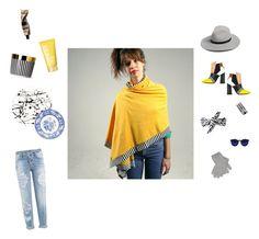 'Nou' shawl in our New Collection by feyer-zsuzsa on Polyvore featuring Dsquared2, Pollini, rag & bone, Portolano, Illamasqua, Clinique, Fürstenberg and Lisa Perry