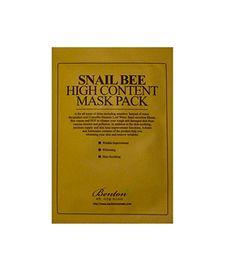 Benton Snail Bee High Content Mask Pack  ✨ Follow CindyLBB✨ Instagram: @cindyslbb Pinterest: @cindyslbb Snapchat: @cindyslbb