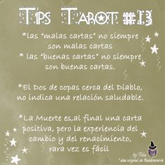 Tarot Tips 13 | Tilia's Blog