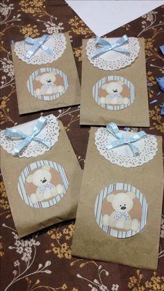 Funditas de ositos para regalo, baby shower o cumpleaños, Teddy bear