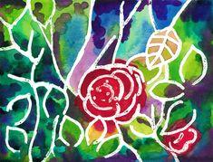 """Rose tree"", watercolour on paper, 24 x 32 cm Tree Watercolour, Rose Trees, Paintings, Paper, Art, Rose Bush, Painting Art, Art Background, Paint"