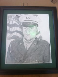 This here is my dad, he was killed in 2004 in Afghanistan. He was the greatest man I knew! Some night say I was a bit of daddy's girl. He has inspired me to go forward with all my dreams and never look back unless it was to smile not be past. I love you daddy! And miss you everyday! R.I.P SSG James Douglas Mowris -Kenzi M.
