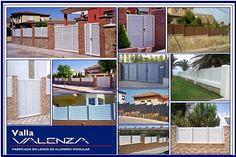 Saca partido a tu terraza o jardín, con la Valla de aluminio VALENZA.