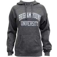 Champion Juniors Fitted Brigham Young University BYU Hoodie (Multiple Colors)