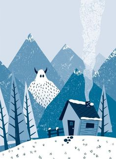 Pinkoi Read Zine 7 幅讓你愛上冬天的暖暖插畫