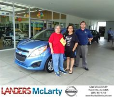 Congratulations Shelia on your #Chevrolet #Spark from Sylvester Redix at Landers McLarty Nissan !  https://deliverymaxx.com/DealerReviews.aspx?DealerCode=RKUY  #LandersMcLartyNissan