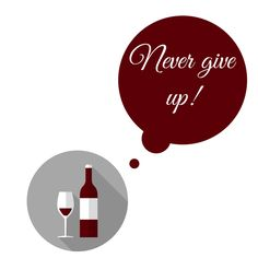 """""""Never give up!"""" is the best advice I've ever heard of . Why? Simple. Because…"""