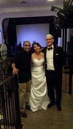 Congrats Randy and Alisa Jedlink #clazelweddings #weddingdj