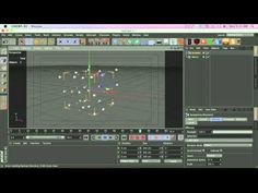 C4D Tutorial: Plexus Style Organic Particle Lines - YouTube