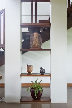 This Modern Bahay Kubo in Tagaytay Is A Lesson In Tropical Design Tropical House Design, Tropical Houses, Table Furniture, Home Furniture, Bahay Kubo, Philippine Houses, House Front Porch, Tagaytay, Modern Tropical