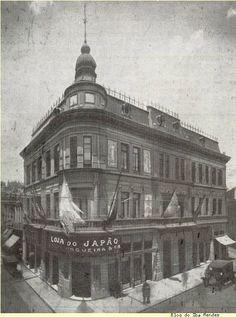 Loja do Japão - Rua São Bento Iba Mendes: Antigos estabelecimentos comerciais de São Paulo - Rua São Bento 98