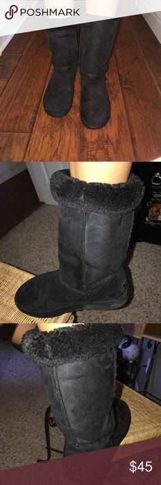 Uggs size 8 Worn but still have lots of life to live! UGG Shoes Winter & Rain Boots