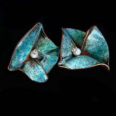 Evelyn Markasky Enamel Metal Work and Jewelry