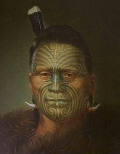Tattooed head found in Birmingham Drawing of the Maori head - copyright Museum of New Zealand Te Papa Tongarewa Small Quote Tattoos, Cute Small Tattoos, Maori Face Tattoo, Maori Tattoos, Maori Words, Sunflower Tattoo Small, Maori People, New Zealand Art, Maori Tattoo Designs