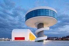 Niemeyer Center in Spain. Photo ©Iñigo Bujedo-Aguirre