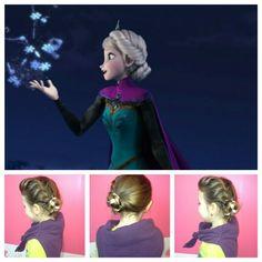 Coiffure princesses, reines des neiges