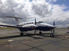 RAF Beech 200 King Air @ RAF Cranwell
