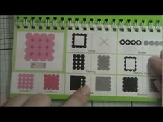 ▶ Elegant Edges Cricut Cartridge Review (like Martha Stewart border punches) - YouTube