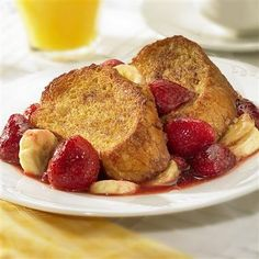 Sweet and fruity, Overnight French Toast makes a delicious addition to your brunch or breakfast table.  @McCormick Pin-spiration