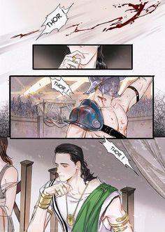 Thorki - Parte 11 - Page 2 - Wattpad Thor X Loki, Marvel Avengers, Bucky And Steve, Wattpad, Short Comics, Loki Laufeyson, Tom Hiddleston Loki, Anime Love, Star Wars
