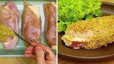 Bananowiec bez pieczenia - Pyszności Cordon Bleu, Garam Masala, Sausage, Meat, Food, Sausages, Essen, Meals, Yemek