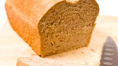 Healthy Whole-Wheat Sandwich Bread, with gluten, oatmeal and flax.  Looks easy