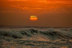 Sunset At Sea by Mario Moreno