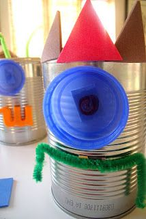 Tin Can Magnet Monsters