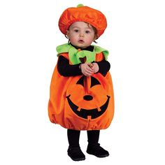 Halloween Pumpkin Costume for Kids