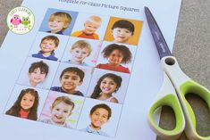 Your kids will love this free printable name activity. Make a name matching set and kids can match pictures with written names. Perfect activity idea for back to school or the beginning of the school year....it helps with learning the names of friends along with spelling, beginning sounds, letter and name recognition. You students will love these activities during the first week and throughout the year in your early childhood literacy centers and writing centers. #preschool #nameactivities Preschool Fingerplays, Preschool Names, Preschool Literacy, Preschool Lessons, Kinder Name Activities, Circle Time Activities, Literacy Activities, Word Wall Kindergarten, Classroom Word Wall