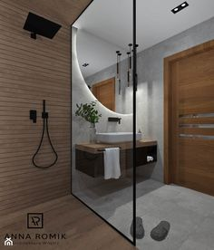 Bathroom Design Luxury, Bathroom Design Small, Dream Home Design, House Design, Minimal Kitchen Design, Restroom Design, Toilet Design, Amazing Bathrooms, Interior Design Inspiration