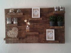 Wanddecoratie Van Steigerhout.29 Beste Afbeeldingen Van Ideeen Bord Steigerhout Shelf Shelves