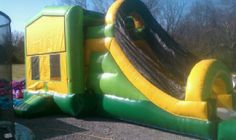 Banner 4in1 Combo Bounce House $200.00  All day rental  Murfreesboro tn 37129 615-438-0195 borobounceandpartyrentals.com