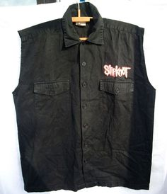 RaRe 90s Slipknot Band Shirt rare Blue Grape jacket Heavy Metal XL cotton black  #HeavyMetal #GraphicTee