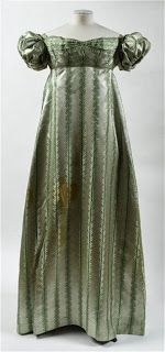 Natalie Garbett - Maker of Historical Clothing and Costumes (Fichu): Decoding Historical Clothing - Using patterned fabric to decipher the cut of a dress.