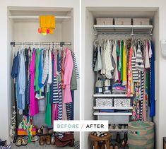 Oh Joy Alcove Closet Makeover