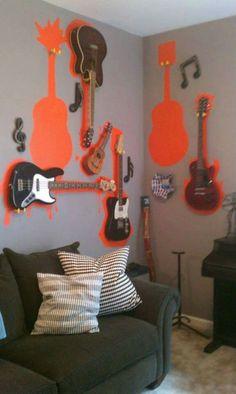 guitar display idea would be purple instead of orange tho