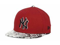 New York Yankees New Era MLB Fitted Snake Cap Hats