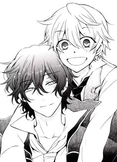 Pandora hearts gil and oz