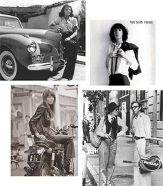 Style I admire: Great assortment including two of my favorites, Patti Smith and Annie Hall