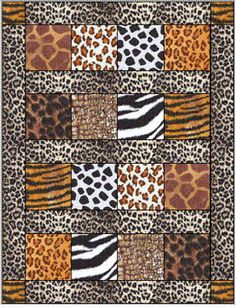 Absolute Beginners quilt pattern from Claudia's Quilt Shoppe