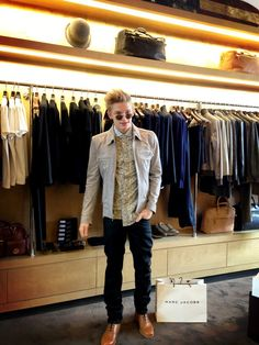 Cody Simpson stopped by our LA store for his 2013 Grammys look.