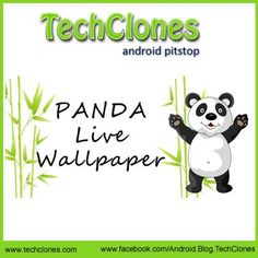 Panda Dumpling Lite 3D Live Android Wallpaper: Panda lovers can easily get their panda on their Smartphones with Panda Dumpling Lite 3D live wallpaper.