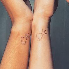 Dental Life, Teeth Implants, Wrist Tattoo, Tattos, Small Tattoos, Tooth, Medical, My Style, Tattoo Phoenix