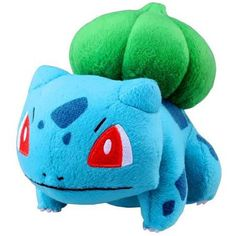 Pin for Later: 27 Pokémon Toys For Your Kids That Won't Drain Your Family Data Plan Bulbasaur Plush Bulbasaur Plush ($65)