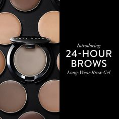 Brows, simplified. Meet Bobbi's NEW Long-Wear Brow Gel— brows that stay put, & then some.