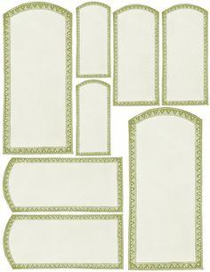 Vanilla Apothecary labels ~ Sage green